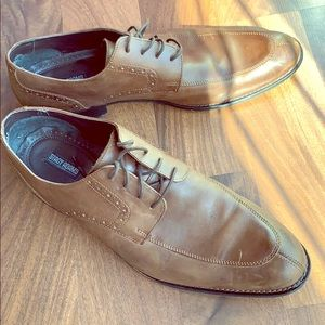 Brown leather Stacy Adams shoes